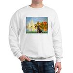 Regatta / Choc. Labrador Sweatshirt