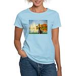 Regatta / Choc. Labrador Women's Light T-Shirt