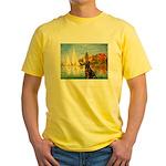 Regatta / Choc. Labrador Yellow T-Shirt