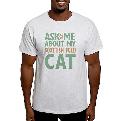 Scottish Fold Cat Light T-Shirt