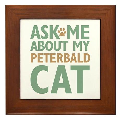 Peterbald Cat Framed Tile