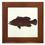 Warsaw Grouper Framed Tile