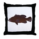 Warsaw Grouper Throw Pillow