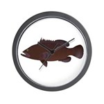 Warsaw Grouper Wall Clock