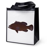 Warsaw Grouper Reusable Grocery Tote Bag