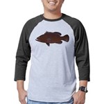 Warsaw Grouper Mens Baseball Tee