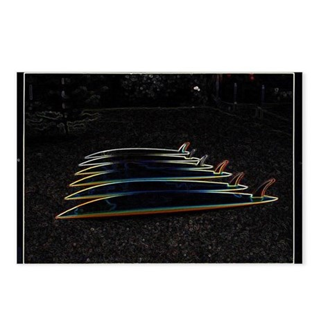 Surfing Boards Postcards