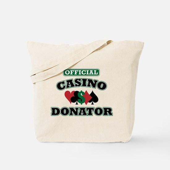 Official Casino Donator Tote Bag