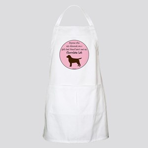 Girls Best Friend - Chocolate Apron