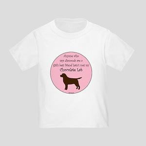 Girls Best Friend - Chocolate Toddler T-Shirt