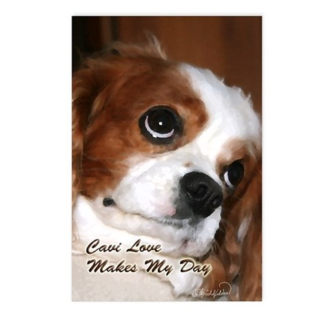 Cavi Love Postcards (Package of 8)