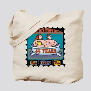 45th Wedding Anniversary Tote Bag