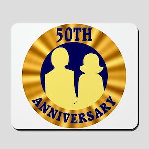 50th Wedding Anniversary Mousepad