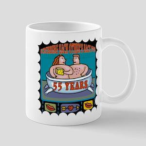 55th Wedding Anniversary Mug