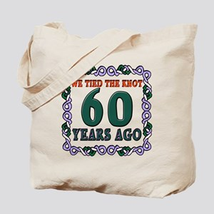 60th Wedding Anniversary Tote Bag