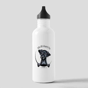 Black Lab IAAM Stainless Water Bottle 1.0L