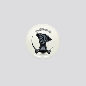 Black Lab IAAM Mini Button