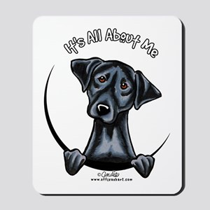 Black Lab IAAM Mousepad