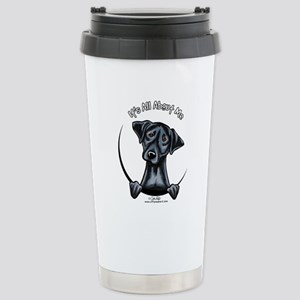 Black Lab IAAM Stainless Steel Travel Mug