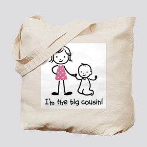 Big Cousin - Stick Characters Tote Bag
