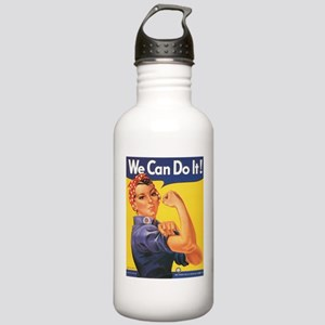 WWII POSTER WE CAN DO IT! Stainless Water Bottle 1