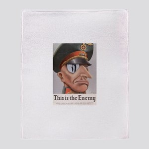 THIS IS THE ENEMY Throw Blanket