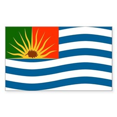 Republic of Cascadia Flag Decal