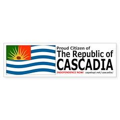 Cascadian Citizen Bumpersticker