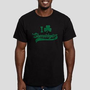 I Shamrock Shenanigans Men's Fitted T-Shirt (dark)