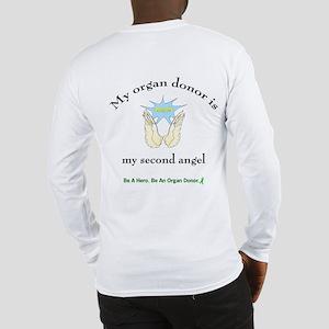 Organ Donor Angel Wings Long Sleeve T-Shirt