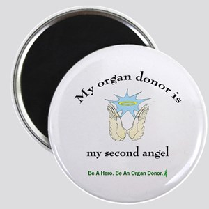 Organ Donor Angel Wings Magnet