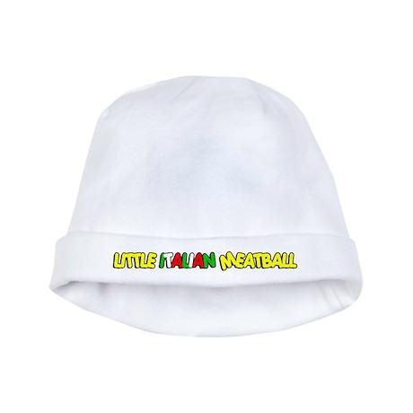 Little Italian Meatball baby hat