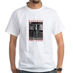 "White T-Shirt Bukowski ""Post Office"" (ra"