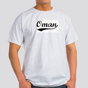 Vintage Oman Ash Grey T-Shirt