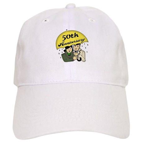 50th Wedding Anniversary Cap