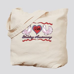 55th Wedding Anniversary Tote Bag