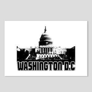 Washington D.C Skyline Postcards (Package of 8)