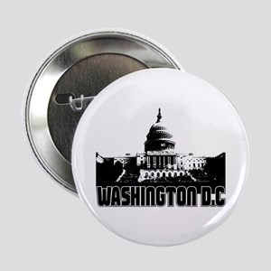 "Washington D.C Skyline 2.25"" Button"