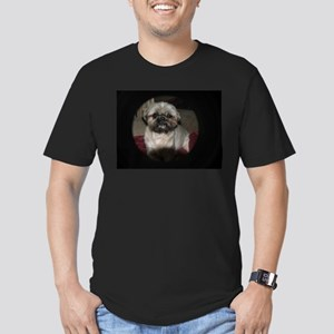 mai tai pet shihtzu Men's Fitted T-Shirt (dark)