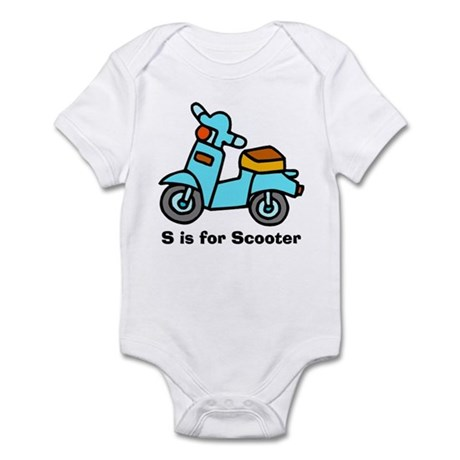 S is for Scooter! Infant Creeper