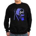 Jazz Drums Blue Sweatshirt (dark)