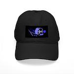 Jazz Drums Blue Black Cap