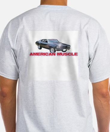 American Muscle Ash Grey T-Shirt