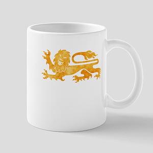 Gold Lion Mug