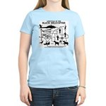 Black Helicopter Lifecycle Women's Color T-Shirt