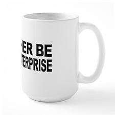 I'd Rather Be On The Enterprise Large Mug