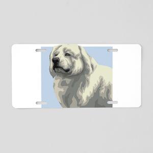 Maremma Sheepdog Aluminum License Plate
