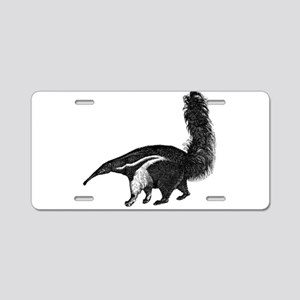 Giant Anteater Aluminum License Plate