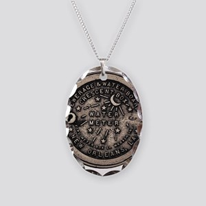 Original Meter Cover Necklace Oval Charm