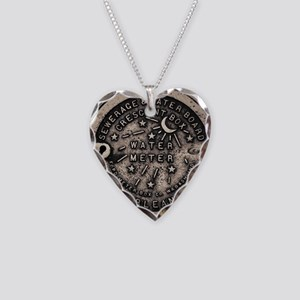 Original Meter Cover Necklace Heart Charm